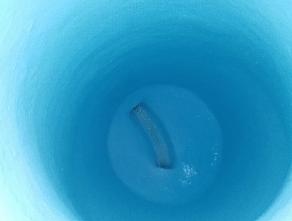 Yuma manhole, post rehabilitation